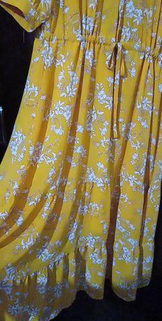 Vestido amarelo Verão