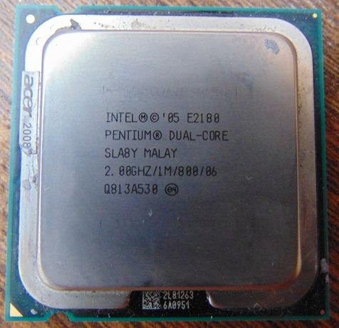 Процессор Intel Dual Core E2180 (2.0 ГГц,1M Кэш,800 МГц) socket 775