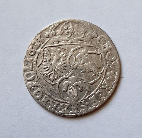 Шість грошей 1623р Сігізмунд 3 Ваза