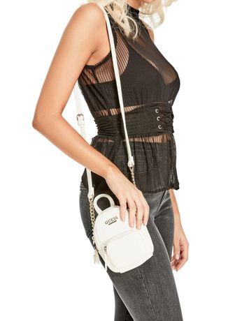 Mini crossbody EVAN torebka plecak plecaczek GUESS oryginalna