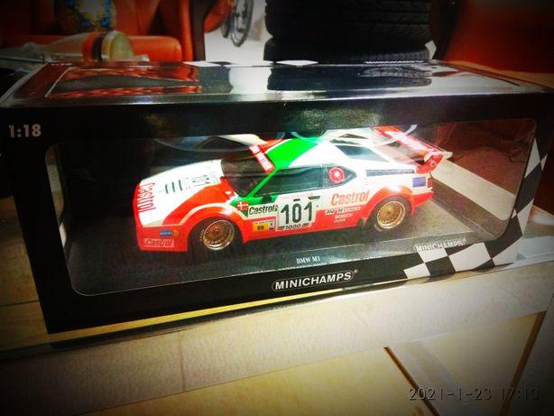 BMW M1 Jens Winther Racing 24H LeMans 1984 1:18 Minichamps