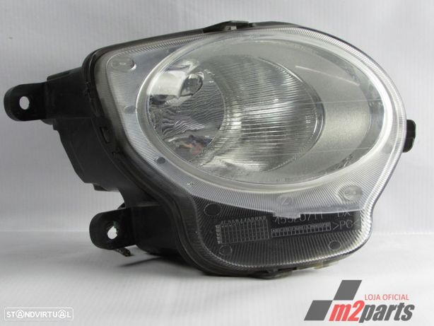 Farol luz de presença Cor Unica Direito FIAT 500 (312_) Semi-Novo