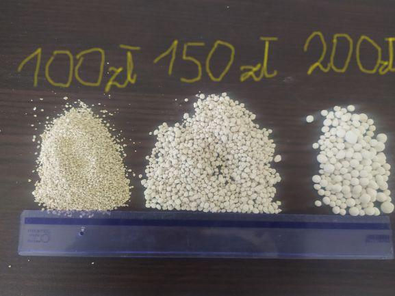 Wapno nawozowe granulowane