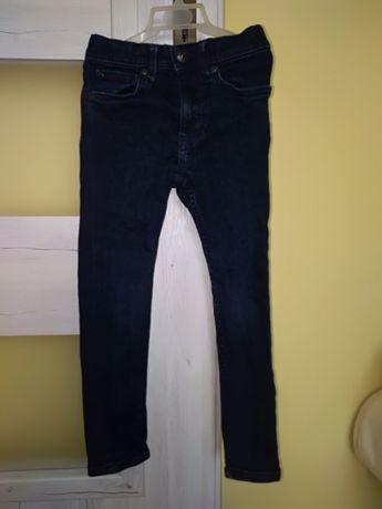 Spodnie super skinny, h&m.