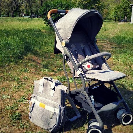 Прогулочная коляска лёгкая и Сумка-рюкзак в подарок