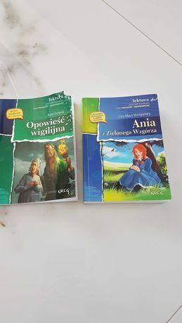 """""""Ania z zielonego wzgórza"""", """"Opowieść wigilijna"""""""