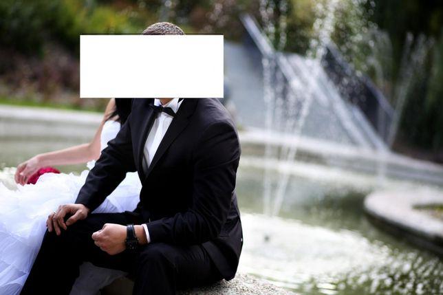 Garnitur Kazzo ślubny czarny