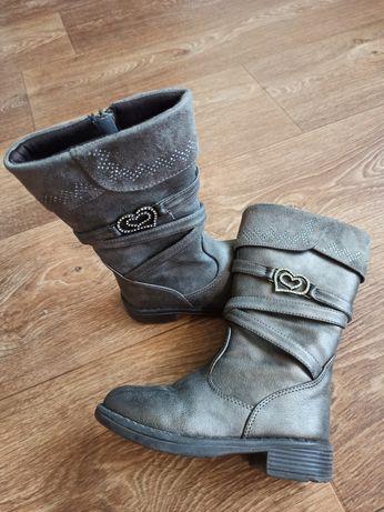 Сапоги деми ботинки стильные высокие