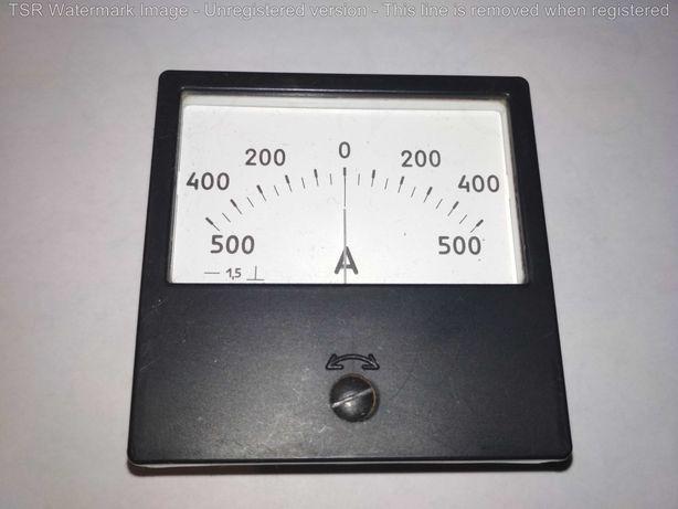 Амперметр 500 - 0 - 500 А