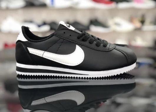 Nike Cortez. Rozmiar 37. Czarne Białe. SUPER CENA! Udryn - image 1