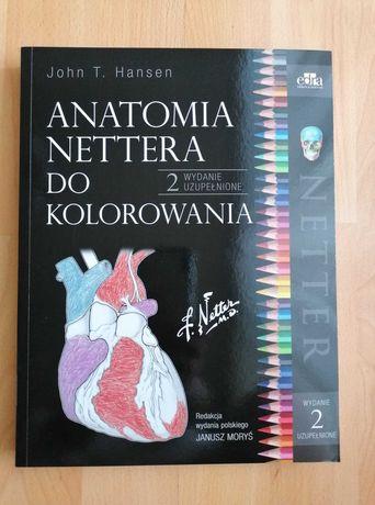 Anatomia NETTERA do kolorowania wyd. II uzupełnione