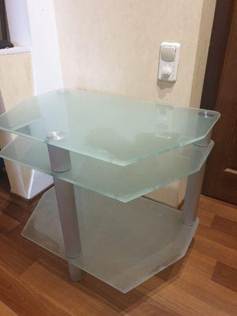Стекляный столик