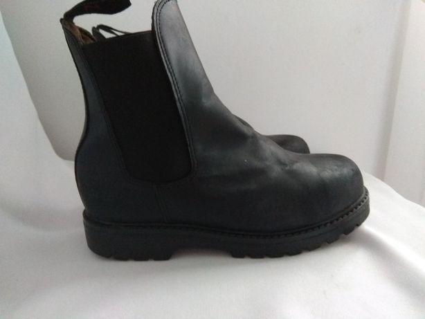 Buty sztyblety jeździecki do jazdy konnej dziecięce skórzane Horze 33
