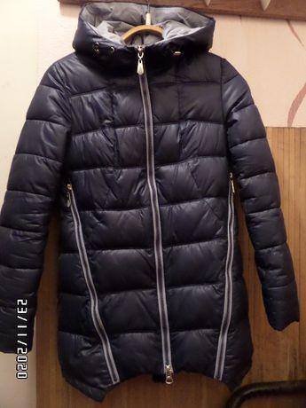 Зимняя куртка 42р. на подростка 13-15лет.