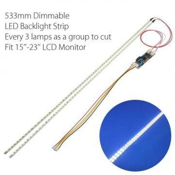 """Универсальная LED подсветка 15-24"""" мониторов ТВ ,замена ламп"""