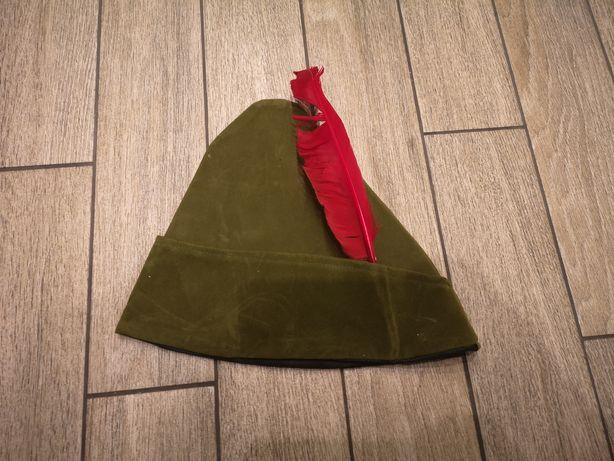 Czapka Robin Hooda Robin Hood łucznik