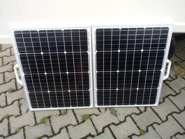 Panel solarny słoneczny 2 X 50 W (100W) 12V
