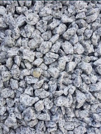 Grys granitowy 8-16mm, dalmatyńczyk, jasny grys, kruszywo ozdobne