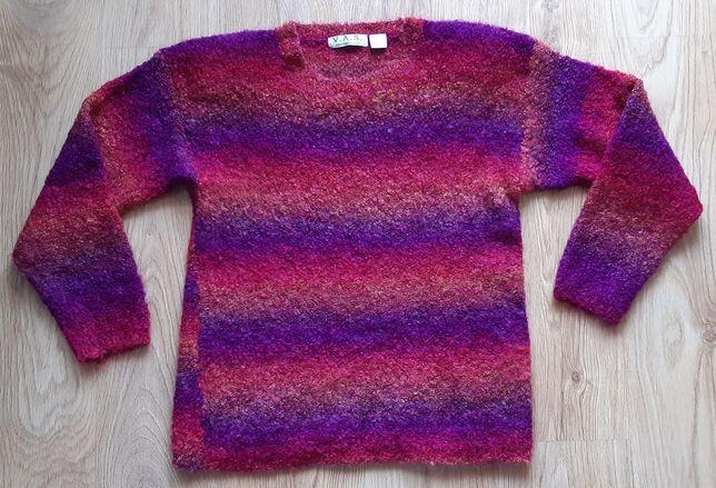 Ciepły mięciutki sweterek rozm L