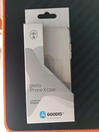 Vendo capa transparente para iPhone X