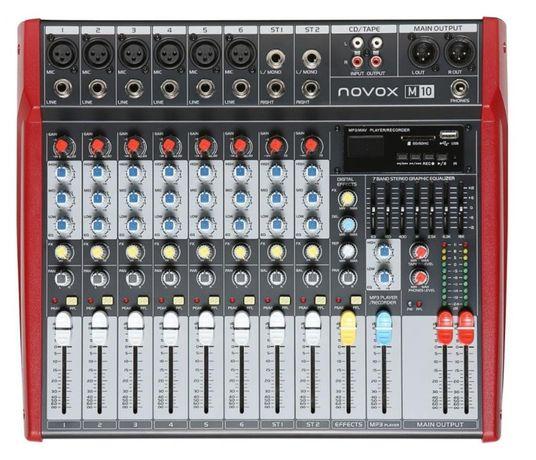 Mikser NOVOX M10 USB, BT + pilot