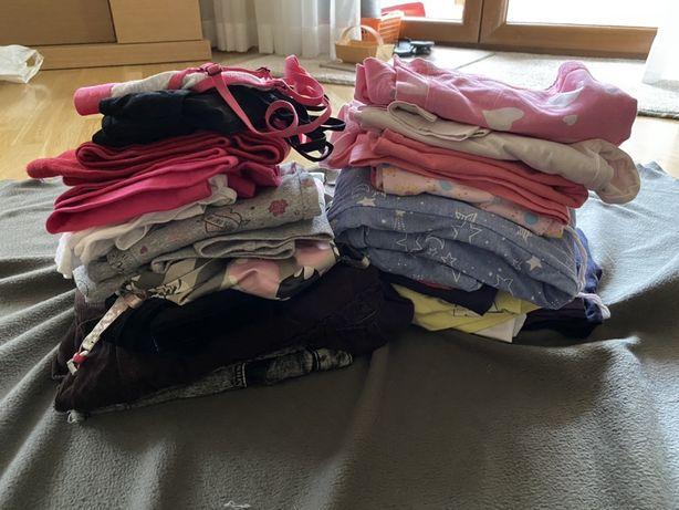 Paka ubrań dla dziewczynki 146 zestaw 31 sztuk