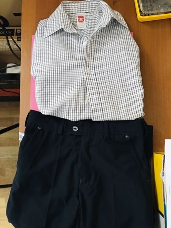 Брюки и сорочка на мальчика 8-9 лет