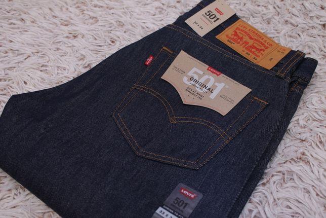 Новые джинсы Levi's 501 Original Fit 33x34