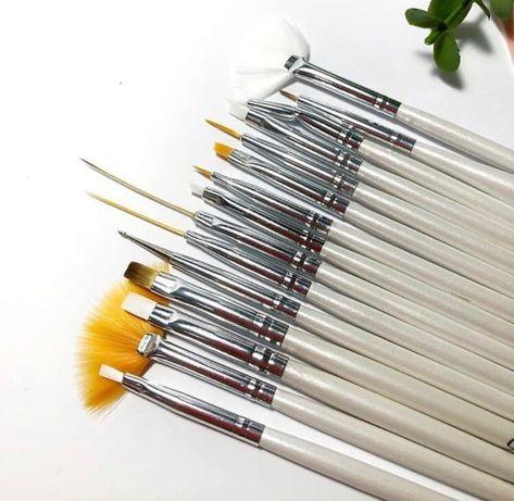 Набор кистей кисти для росписи дизайна ногтей маникюра 15 шт