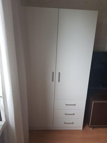 Biała szafa 90x170x50