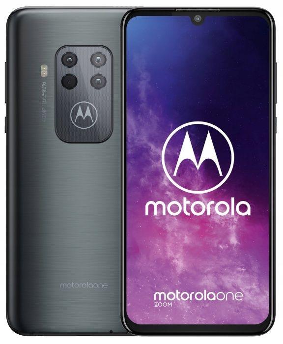 Nowy ! Telefon Motorola One Zoom 4/128GB Grey Szary NFC DualSim (R) Koszalin - image 1