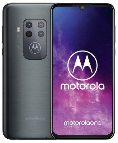 Nowy ! Telefon Motorola One Zoom 4/128GB Grey Szary NFC DualSim (R)
