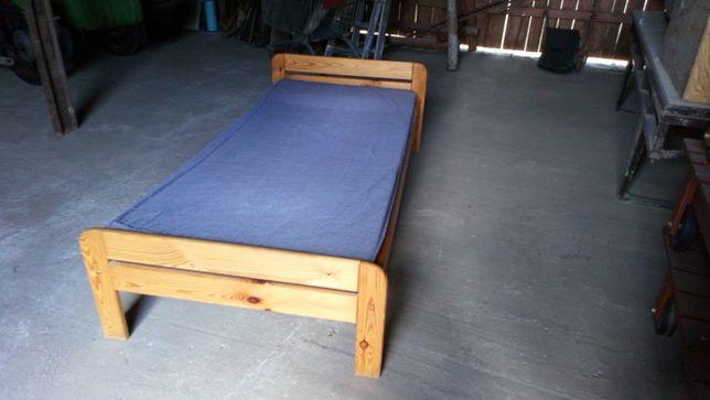 łózko drewniane sosnowe 90x200 cm