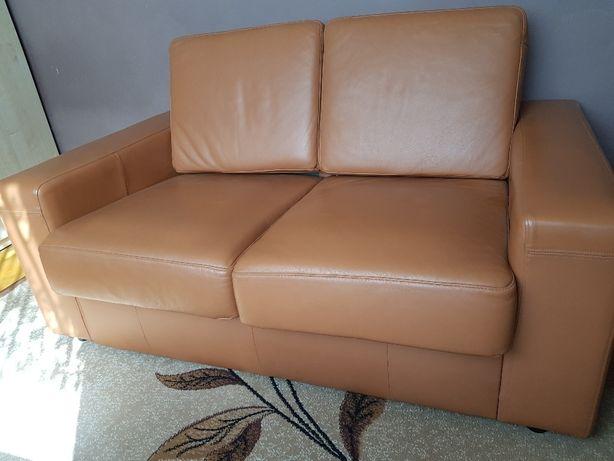 Sofa skórzana dwuosobowa