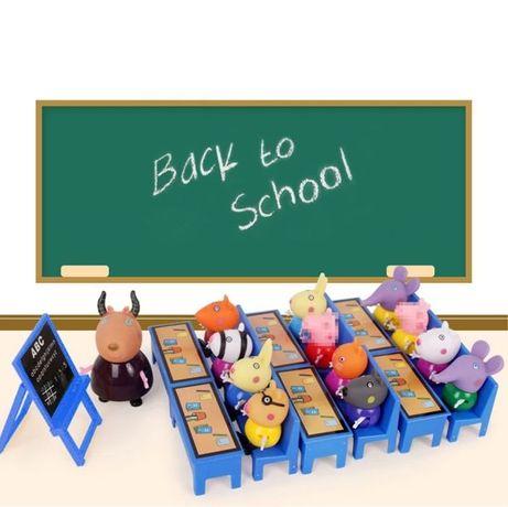 Peppa pig na escola (porquinha Pepa)