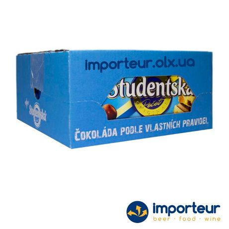 Купить Studentska Duomix, Дуо. Вкусный молочно-белый шоколад из Чехии