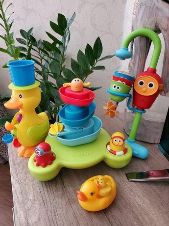 Игрушки для воды Yookidoo утка, фонтан, водопад