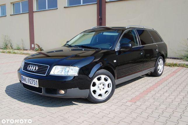 Audi A6 Lift Alu Czarna Piękna V6 Gaz Xenon Raty Zamiana