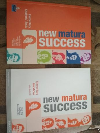 Angielski NEW MATURA SUCCES podręcznik oraz ćwiczenia NIE WYSYŁAM