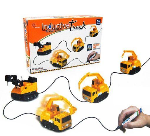 Игрушка индукционная машинка Inductive Truck. Подарок