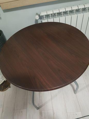 stół okrągły zapraszam