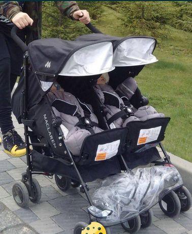 Детская коляска для двойнят. Коляска для близнецов