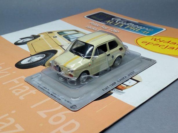 Fiat 126p Nauka Jazdy 1/43 Dea/IXO