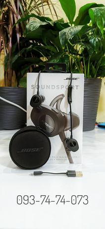 [ Original ] Bose Soundsport Wireless Black Bluetooth с микрофоном