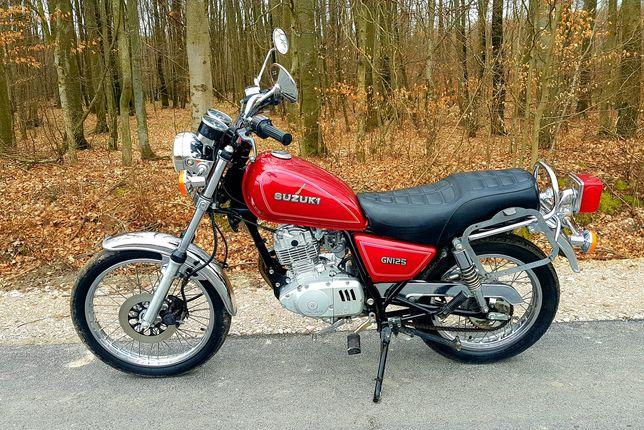 Suzuki GN 125 Kat.B 17tys. Okazja
