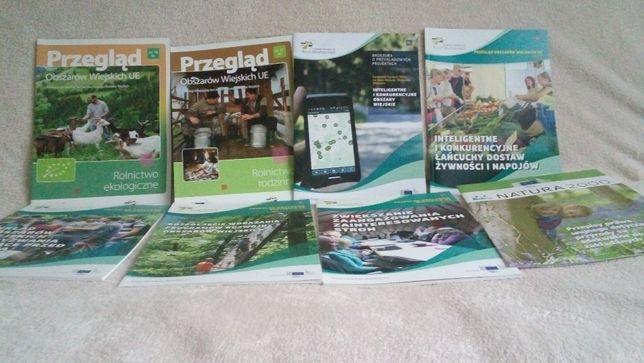 Zestaw 12 broszur/ informatory /ksiazek ue o obszarach wiejskich