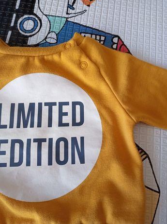 Musztardowa bluza Limited Edition Primark 68