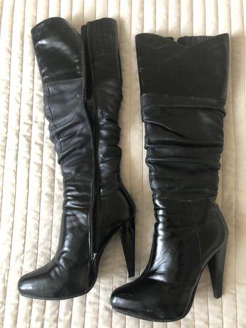 Жіночі чоботи на цегейці