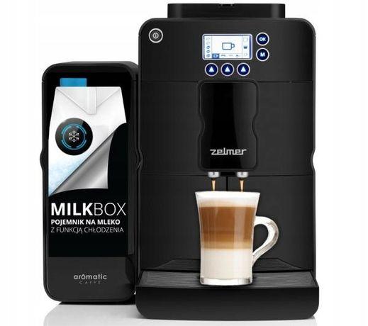 Ekspres ciśnieniowy do kawy ZELMER ZCM4821B z modułem mleka