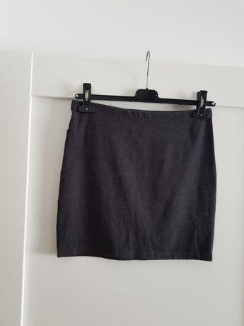 Spódnica H&M tuba mini elastyczna